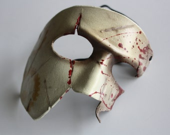 steampunk leather mask spartan