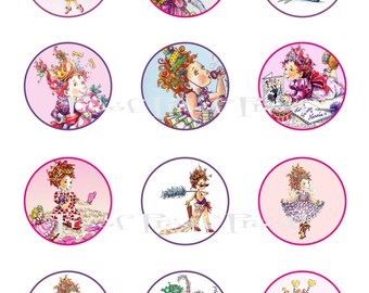 Fancy Nancy Cake Topper