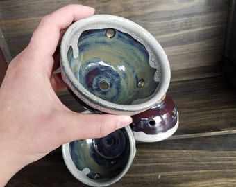 Set of 3 Stoneware Berry Bowls