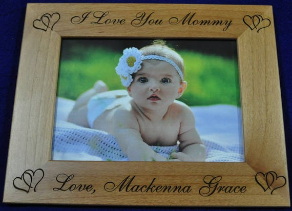 Mothers Day Gifts Birthday Gift For Mom Baby Frame Custom