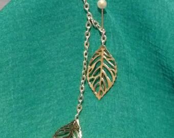 Leaf Key Ring