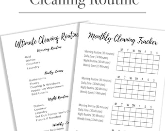 Cleaning Routine Inserts