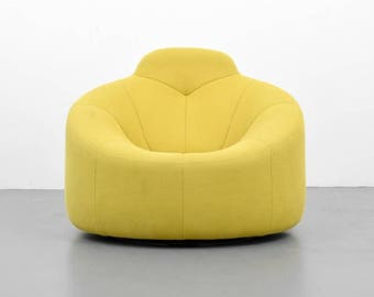 "Pierre Paulin ""Pumpkin"" Lounge Chair"