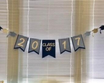 Class of 2017 Banner, Graduation Banner, Graduation