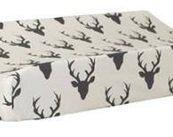 Changing Pad Cover | Deer Buck Forest in Night