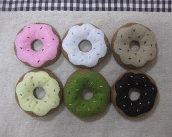 Felt donut collection