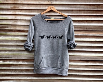 all those in favor say Nay Horse Sweatshirt, Horse Sweater, Horse Gift, Horse Lover, Equestrian Gift, XS-2XL