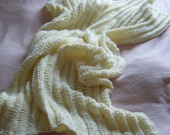 Super Chunky Crochet Blanket - Made to Order - Choice of Colour & Size