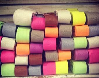 Cotton webbing, Yoga Mat Strap, 52 inch yoga strap, Yoga Stretch Strap, Yoga Sling, Yoga Mat Sling, Yoga Mat Carrier, Cotton Yoga Strap,
