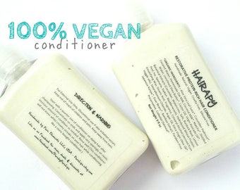 Vegan Hair Conditioner. Green Tea Infused Hair Conditioner with Herbal Extracts. Protein Rich Natural Conditioner.