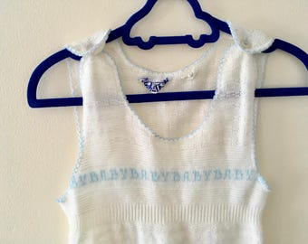 Vintage Baby Baby Baby Romper - Size 18 months