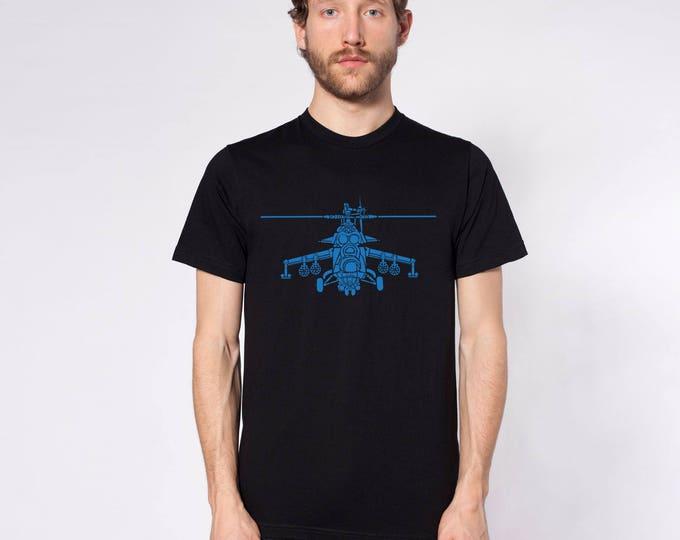 KillerBeeMoto: Hind Mil Mi-24 Russian/Soviet Attack Helicopter Short Or Long Sleeve T-Shirt