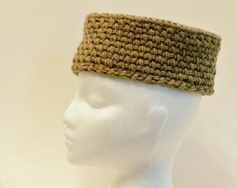 Easy Crochet Pattern - Mens Hat, Pill Box, Cossack, Chunky Hat, Toddler, Girls, Boys, Teen, Womens, Mens, L, XL, XXL, Meadowvale Studio #156
