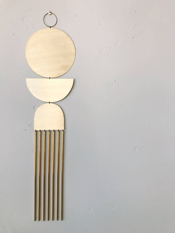 """Brass Wall Hanging - """"here comes the sun"""" - made-to-order - 3 week turnaround time"""