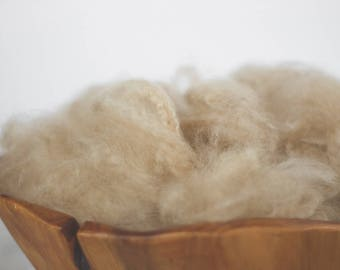 Tan Newborn Fluff Cloud Basket Filler Nest Stuffer Photography Prop