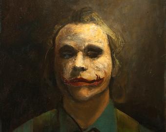 The Joker - Oil Painting