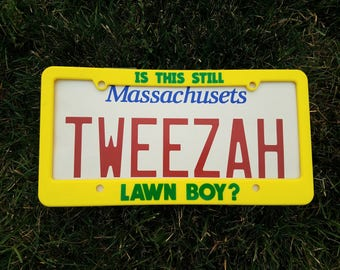 Is This Still Lawnboy License Plate Frame from The Baker's Dozen