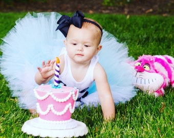 Alice In Wonderland Birthday Outfit | 1st Birthday Tutu | 1st Birthday Dress | Alice Costume | Teacup | Alice in OneDerLand Tutus
