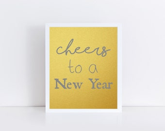 Cheers New Year 2016 Happy New Year Printable