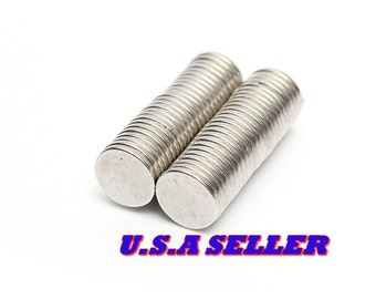50PCS 8mm X 1mm Disc Round Strong Rare Earth Magnets Neodymium N35 craft magnets project magnets