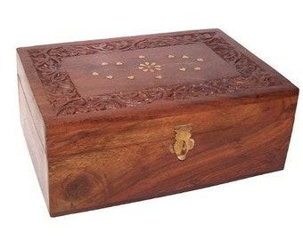 Wooden Aromatherapy Box - Holds 24 x 10ml