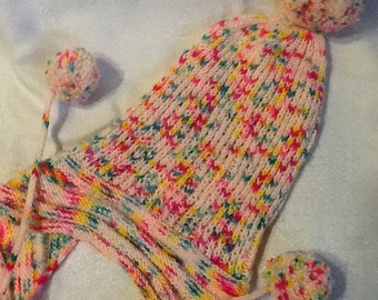 Jellybelly Ski, slouch hat, speckled yarn, adult, teen
