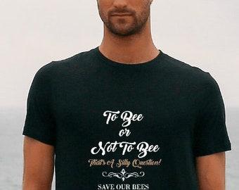Save Our Bees Bee Lover Conservation T Shirt, Save The World Shirt. Honey Bee Shirt Men's Women's Tee T Shirt T-shirt Tshirt