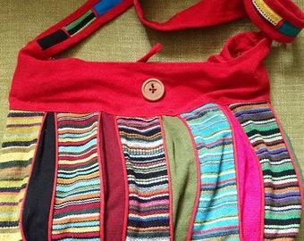 Indian boho hand bag