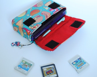 Junk Food 3DS / 3DS xL / New 3DS Carrying Case MADE TO ORDER