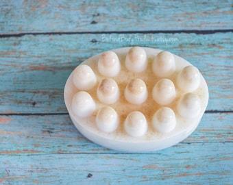 Oatmeal Massage Bar, Massage Soap, Oatmeal Soap, Goat Soap, Glycerin Soap, Melt and Pour Soap, Colloidal Oatmeal, Palm Free Soap