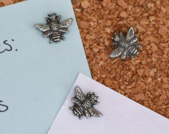 Bumble Bee Pushpins For Your Corkboard