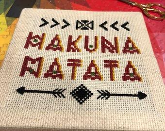 Hakuna Matata - Cross Stitch