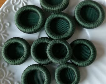 Vintage buttons in silk/viscose
