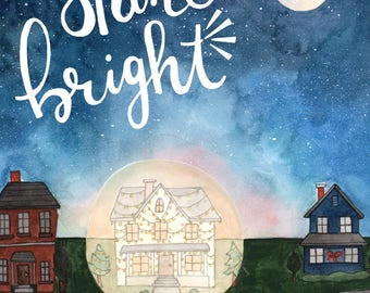Shine Bright Christmas Card Box Set