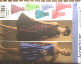 Simplicity 4070 - evening wear dresses