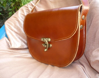 Leather Cross Body Bag, Shoulder Bag, Leather Bag Purse