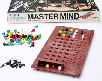 Master Mind Game Original 1972