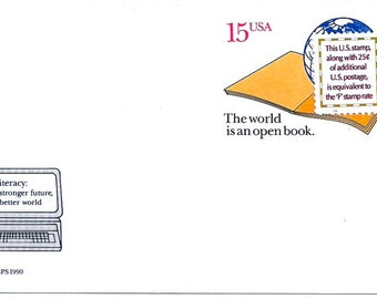 The World Is An Open Book - Post Card