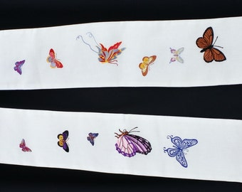 A Flutter of Butterflies Clergy Stole, Vestment MADE TO Order