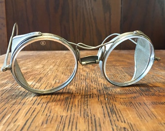 Vintage American Optical (AO) Safety Glasses: Streampunk