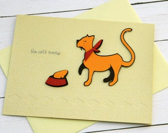 Cat Birthday Card Funny Cat Birthday Card Cat Lover Bday Cat Happy Birthday Kitty Cat Card Crazy Cat Lady Greetings Cards Clearance Sale