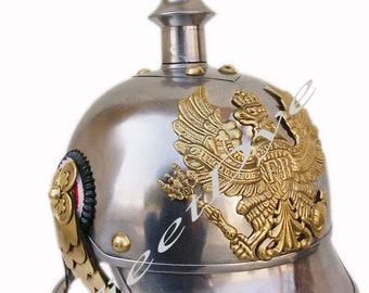 MEDIEVAL ARMOR GERMAN pickul hoo steel & brass