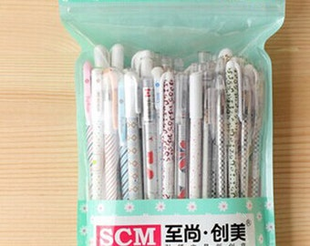 SALE~Set of 50pcs gel pens for drawing, scrapbook, writing, sign