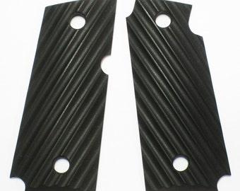 "Duragrips - Kimber Micro Carry .380 Tactical Grips - "" Ripple ""  - Black"