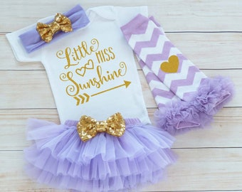 Baby Girl Outfit, Cute Bodysuit, Little Miss Sunshine Shirt, Little Princess Bodysuit, Coming Home Baby Girl, Baby Shower Gift, Cute Infant