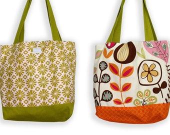 Flashback Floral Tote Bag