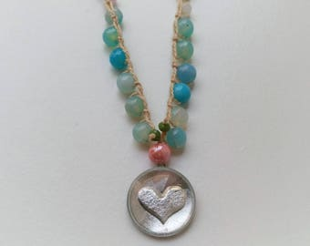 Necklace Marine Heart