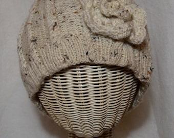 Beige Wool Hat