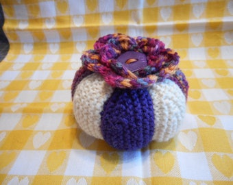 Pin Cushion Large, Knitted Pincushion, Sewing Accessories, Sewing Room Decor, Pincushion Gift