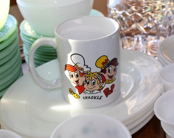 Kellogg's Rice Krispie Cereal Characters Collector mug ~ Snap, Crackle and Pop
